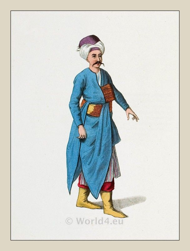 The Costume of Turkey. Ottoman Empire 18th century.