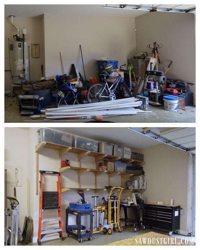 Best 25+ Garage storage shelves ideas on Pinterest | Diy ...