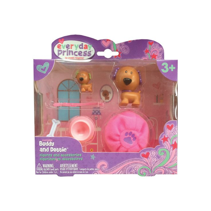 Neat-Oh! Everyday Princess Buddy and Dottie & Bean Bag Bed