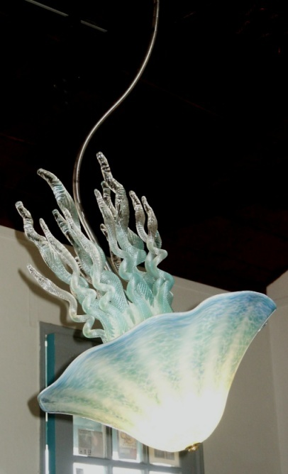 Wonderful Blue Green Jellyfish Light By Joel Bloomberg