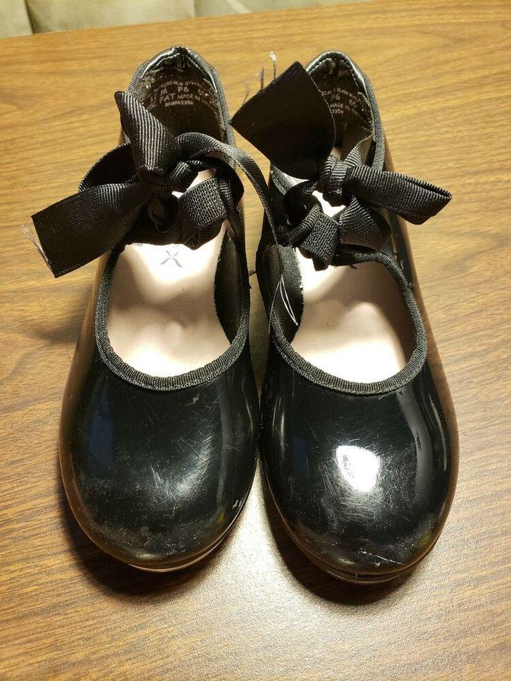Capezio N625C Tap Dance Shoe Little Girl's Size 12M
