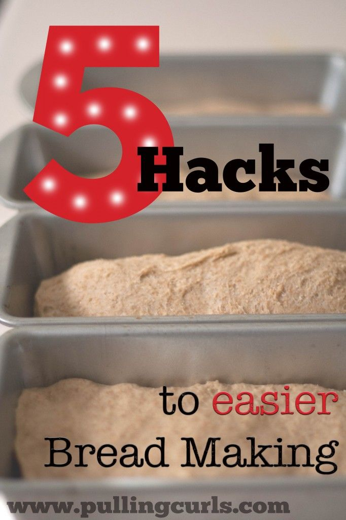 There are lots of tips for making bread. They will allow you to make it more often and with less hassle for your family.