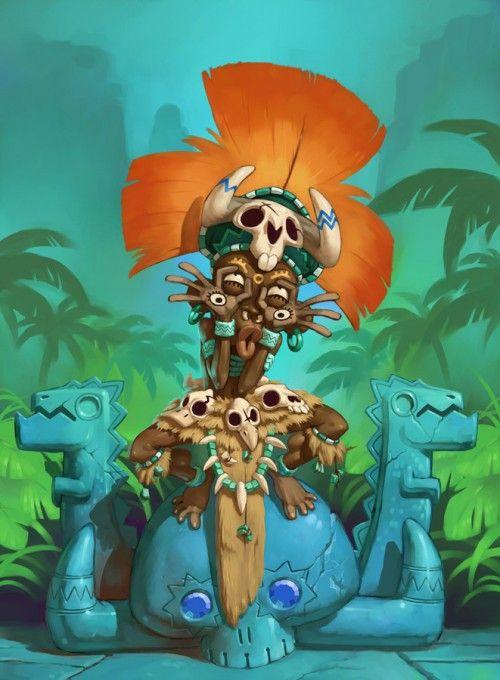 Cartoonish Game Concept Art by naïade