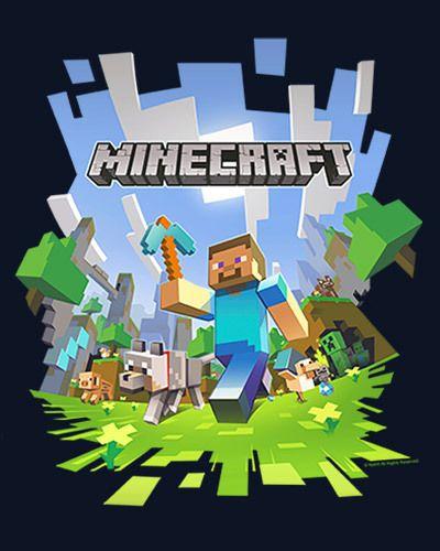 Jinx | Minecraft T Shirt - Minecraft Adventure (long sleeve) | Official UK Supplier