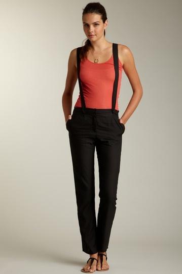 American Vintage suspenders pants.... Smokin!
