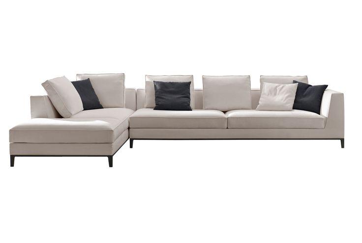 Sofas: LUCREZIA – Collection: Maxalto – Design: Antonio Citterio