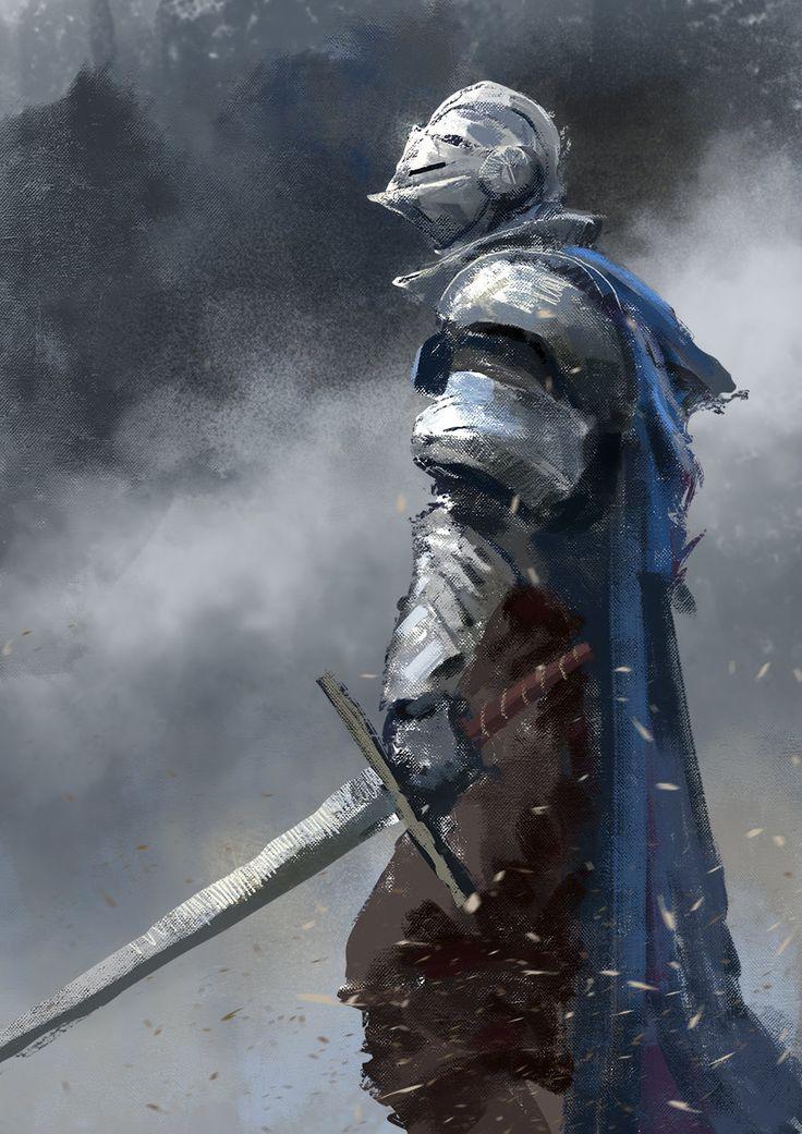 Knight Speedpaint, Conor Burke on ArtStation at https://www.artstation.com/artwork/knight-speedpaint