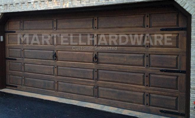 Garage Door Hardware Decorative Agave Ironworks Hand