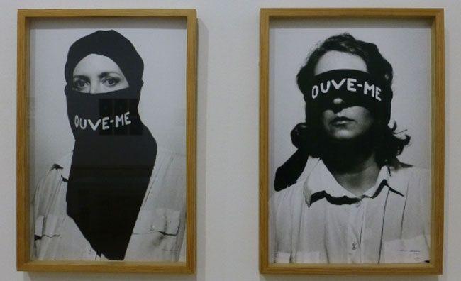 Exposition photographique Corpus d'Helena Almeida - Evous