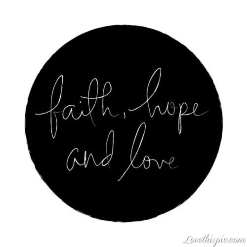 25 Best Ideas About Faith Quote Tattoos On Pinterest