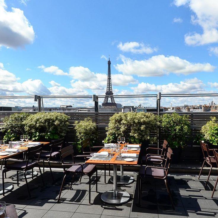 Top 30+ des meilleurs bars rooftop de Paris, pour boire un