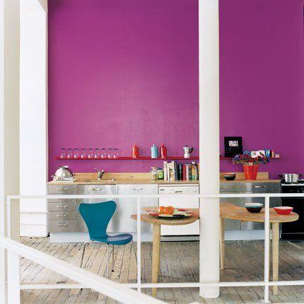 des cuisines aux couleurs vitaminées - Marie Claire Maison