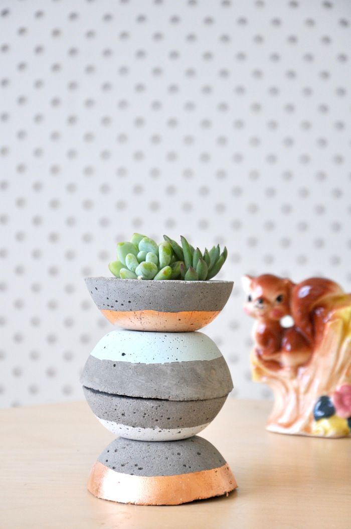 Image of Petite Concrete Planter