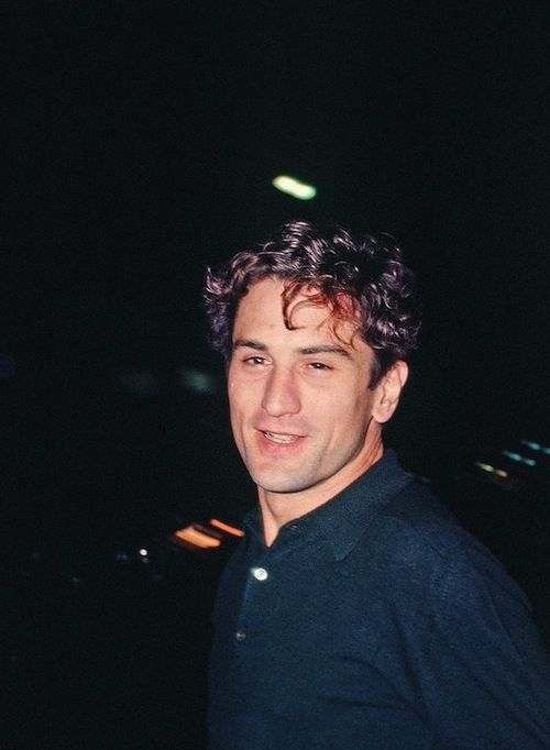 Robert De Niro at The Roxy Theater, 1976.