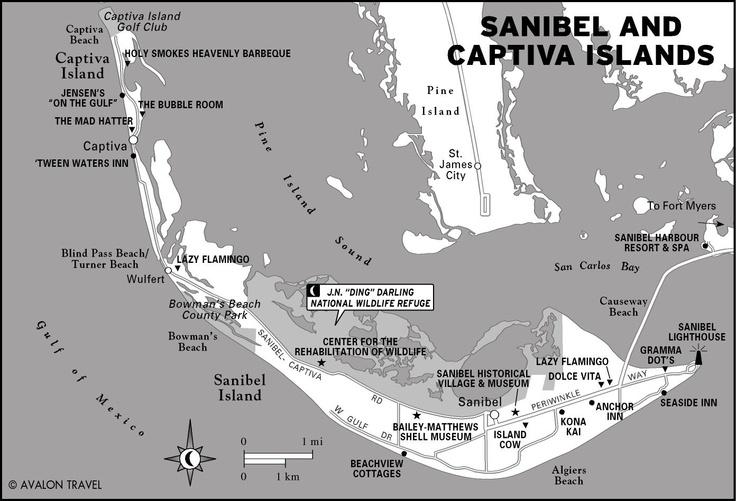 Sanibel Island Map: 17 Best Images About Sanibel Island On Pinterest