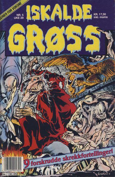 Cover for Iskalde Grøss (Semic, 1982 series) #5/1992