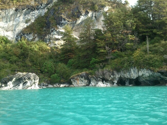 Hermoso color del agua :)