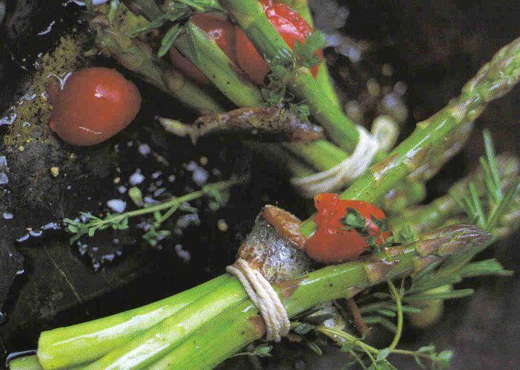 *Jamie Oliver's groene asperges met pancetta