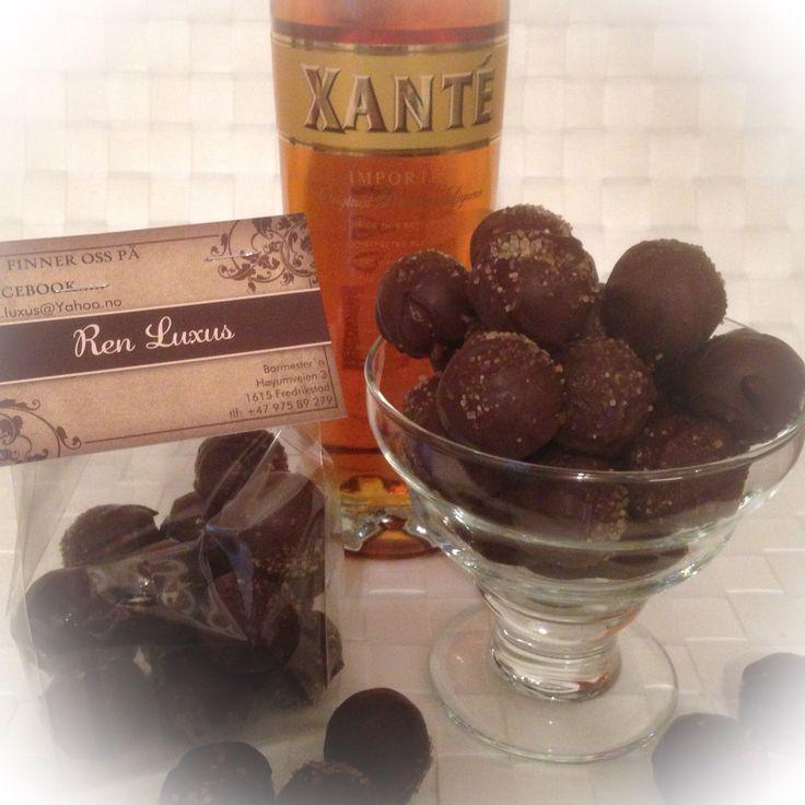 Sjokoladekuler med Xante fyll