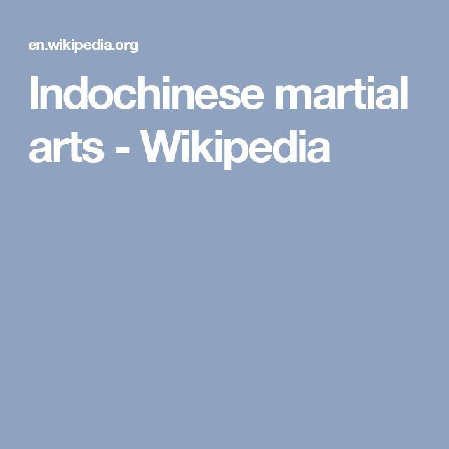 Indochinese martial arts - Wikipedia