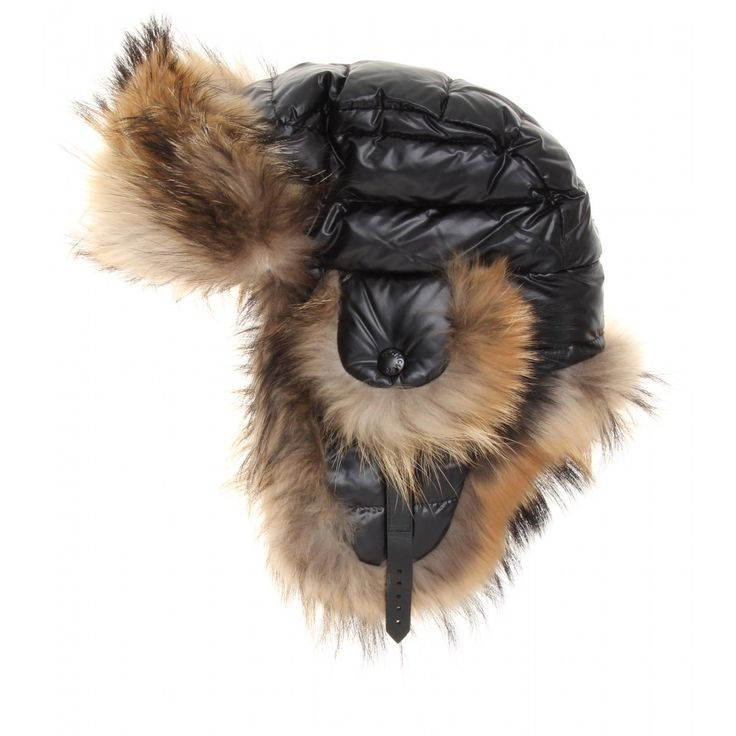 FUR TRIMMED TRAPPER HAT  seen @ www.mytheresa.com