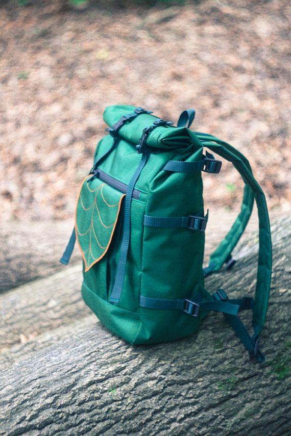 MEDIDA hoja rodillo grande superior mochila, mochila impermeable, viajes, morral…