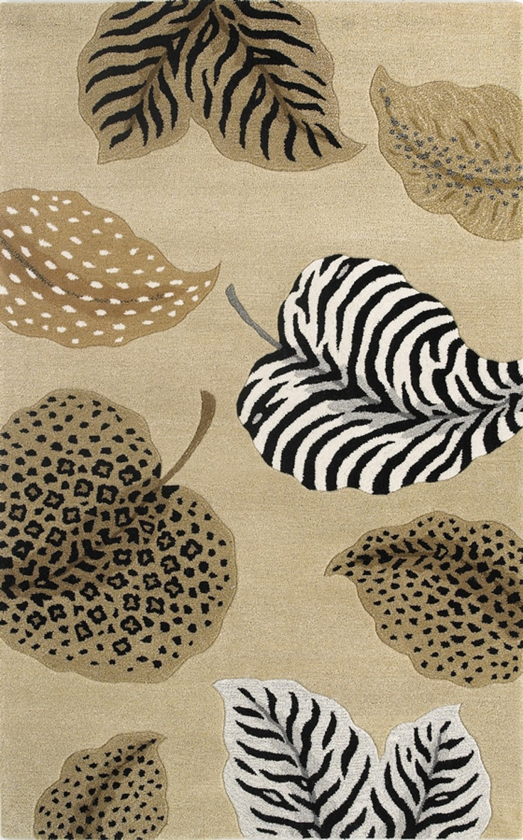 best zebra area rugs images on pinterest - sahara  animal print rug