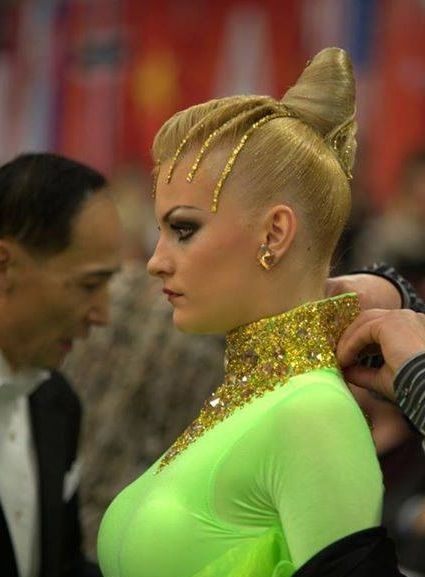 Sensational 1000 Images About Frisuren On Pinterest Updo Ballroom Dance Short Hairstyles Gunalazisus