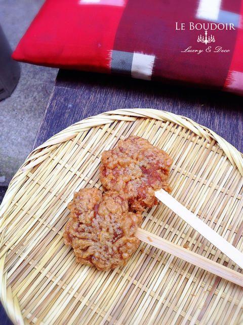 Le Boudoir 気まぐれな日記  Japanese sweets Age momiji manju