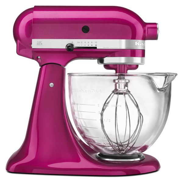 KitchenAid Raspberry Ice Stand Mixer Giveaway