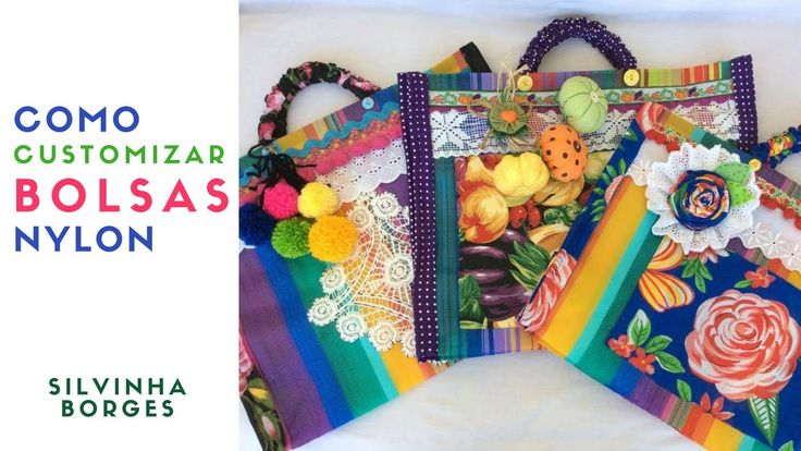 Como Customizar Bolsas de Nylon