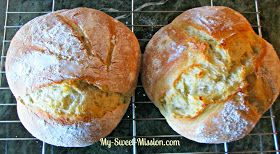 Crusty Artisan Bread in 5 Minutes by My Sweet Mission