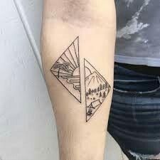 Kleine Tattoo-Idee – Tätowierung in Kalifornien…