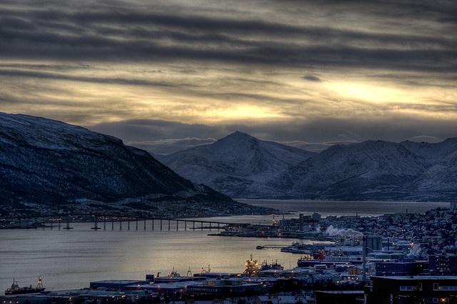 Stakkevollan, Troms Fylke, NO.