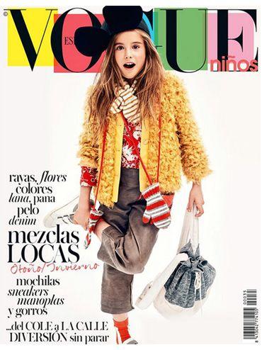 Vogue niños . Octubre 15