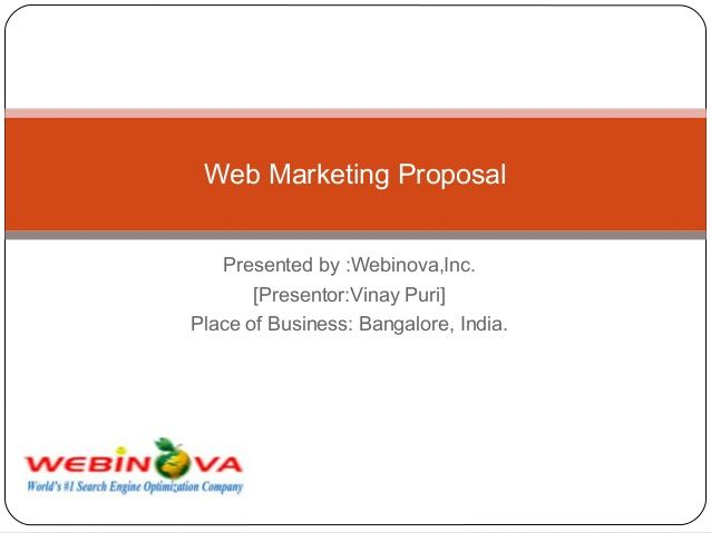 seo proposal for client pdf