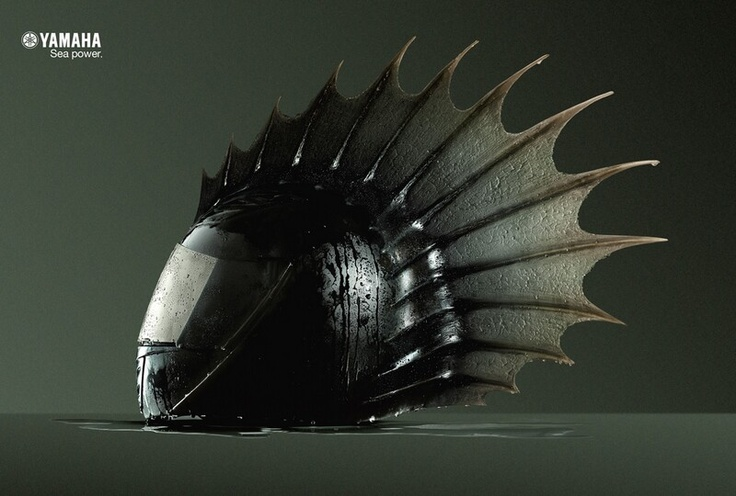 YAMAHA Helmet? What do you think.. would you wear it !?