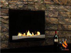 Atlantic fireplace by Decoflame, bio-fireplace, биокамин