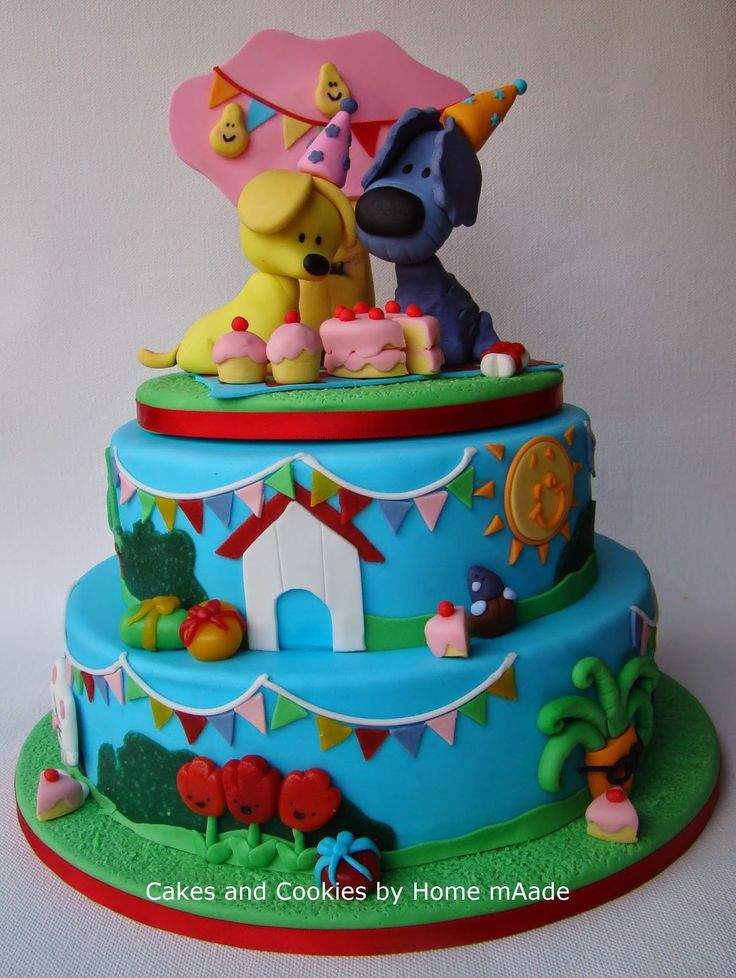 Cakes and Cookies by Home mAade: Woezel en Pip verjaardagstaart