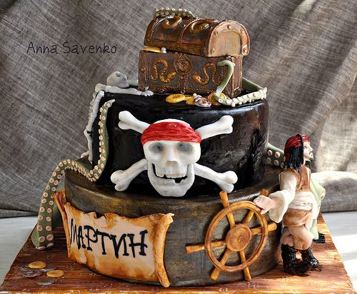 1000 Ideas About Caribbean Party On Pinterest: 1000+ Images About Pirate Cakes On Pinterest