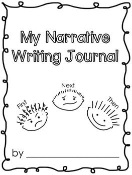 NARRATIVE WRITING GRAPHIC ORGANIZERS FREEBIE - Narrative Writing Graphic Organizers and journal writing pages plus cover page. Great for advanced Kindergarteners or First Graders.