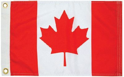"""Taylor Made Products Canadian Ensign Boat Flag (9"""" x 18"""")"""