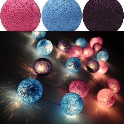 Vad gillar du den här #ljusslingan? Den heter Grapewine och du hittar den o flera andra här hos oss :) #cottonballights#cottonballs#inredningsblogg#inredningstips#fairtrade#harmoni#belysning#home#lights#hjem#Interiör