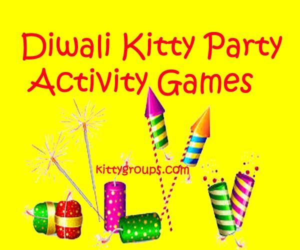 11 Diwali Activity Games For Kitty Party