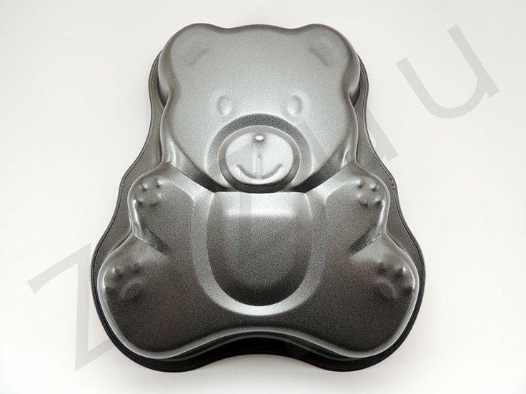 Tortiera antiaderente a forma di orsetto #tortiera #ZiZuu