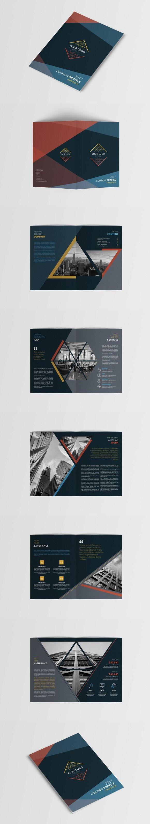A5 Company Profile. $10.00