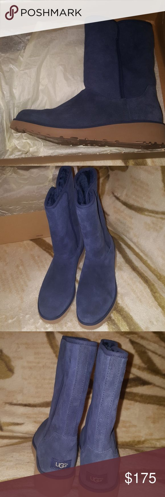 Brand new Navy blue Uggs W Amie UGG Shoes Winter & Rain Boots