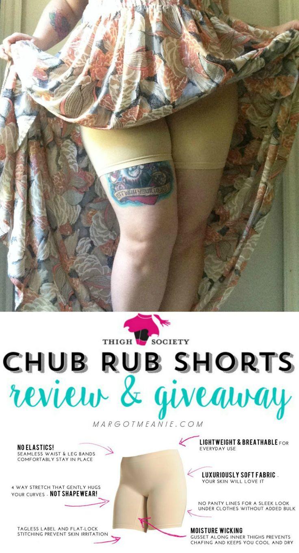 Thigh Society chub rub shorts review and GIVEAWAY { open May 11 - May 18 }