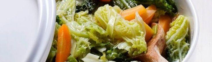 Stoofpotje van savooiekool en wortels