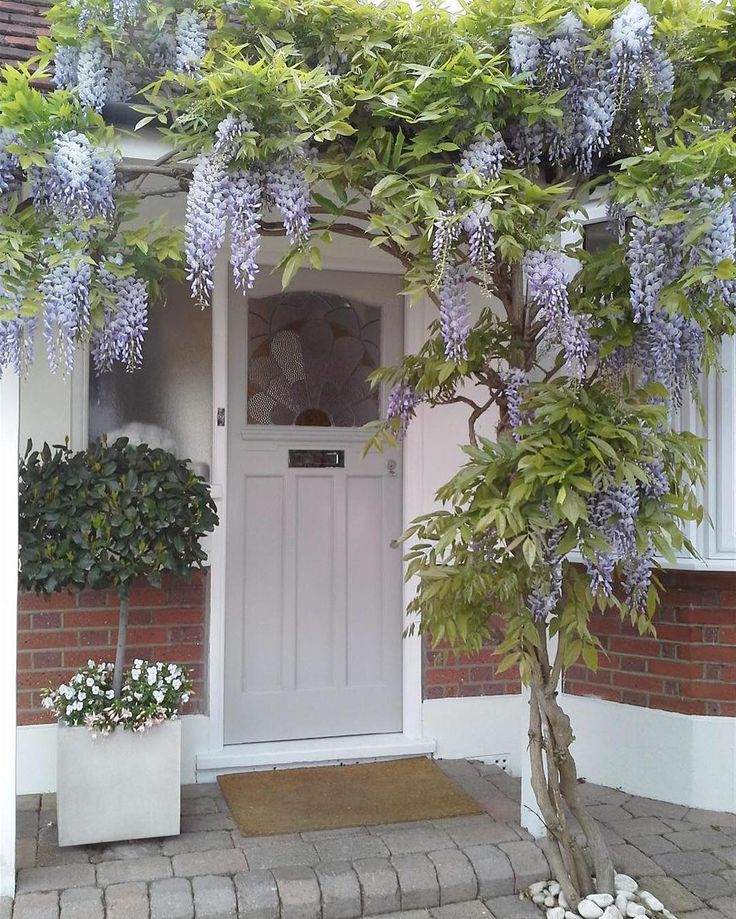 Front Door In Farrow and Ball's Pavilion Grey Farrow and Ball have released images of fifteen of their favourite front doors. Who can e...